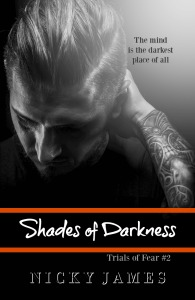Shades of Darkness Kindle with quote